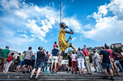 Spektakel um die größte Agathe der Welt