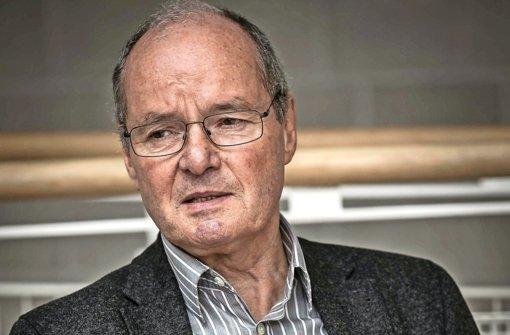 Wolfgang Vögele, ehemals Jugendrichter  am Landgericht Stuttgart, ist gegen eine Verschärfung des Jugendstrafrechts. Foto: Lichtgut/Max Kovalenko