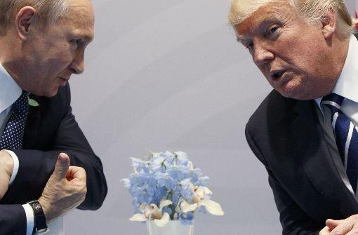 Putin dankt Trump für Hinweise auf mutmaßlichen Anschlag in Russland
