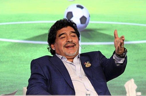 Maradona schließt Pakt mit Venezuelas Chef
