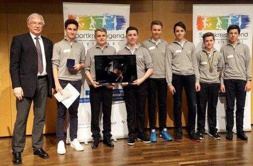 Der Stuttgarter Golfclub Solitude wird als Mannschaft des Jahres geehrt. Foto: Pressefoto Baumann