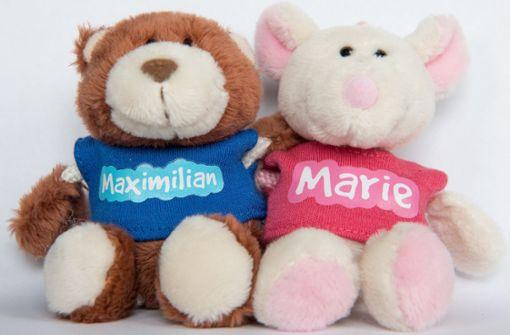 Spitzenreiter: Bei den Mädchen wählen Eltern besonders gerne Marie als Vornamen, bei Jungen ist Maximilian am beliebtesten. Foto: dpa