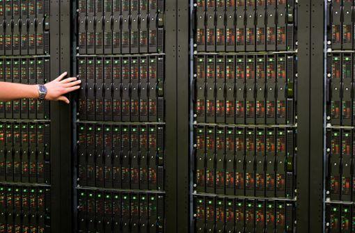 Hochleistungsrechner sorgen dafür, dass riesige, unstrukturierte Datenmengen in Echtzeit analysiert werden können. Foto: dpa-Zentralbild