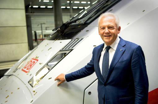 Hohe Abfindung für Ex-Bahn-Chef