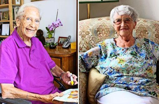 Auch mit 92 Jahren noch an die Urne