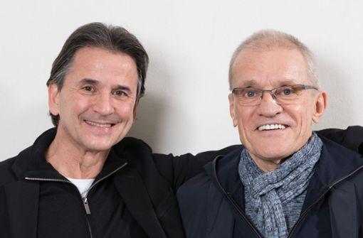 Kommender Chef und Noch-Chef: Tamas Detrich mit Reid Anderson (von links). Foto: dpa