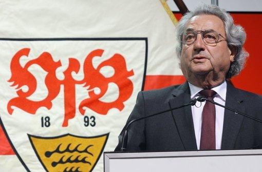 VfB-Aufsichtsratschef Dieter Hundt Foto: Pressefoto Baumann