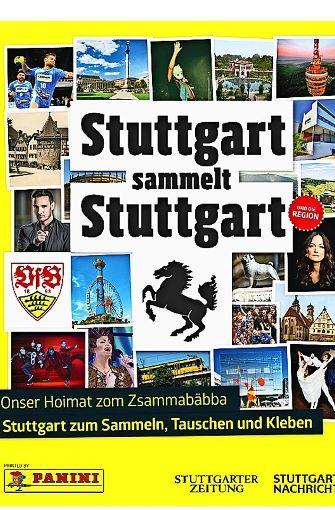 Die Heimat im Stickeralbum – so sieht das Cover des Stadt-Sammelalbums aus. Foto: Screenshot