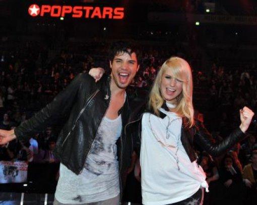 Vanessa und Leo sind neue Popstars