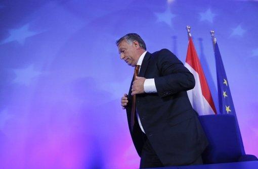 Orban will keine Muslime aufnehmen