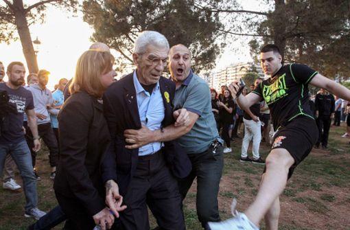 Bürgermeister Thessalonikis zusammengeschlagen