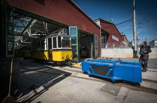 Straßenbahnwelt in Bewegung