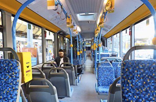 Nur wenige wollen Expressbus fahren