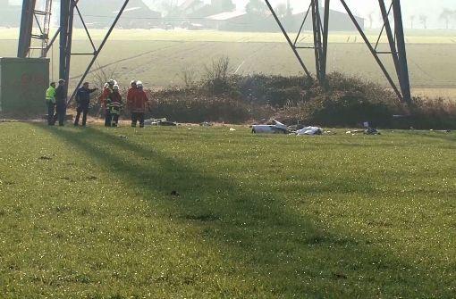 Pilot stirbt nach Crash mit Windkraftanlage