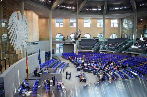 Aufgeblähter Bundestag