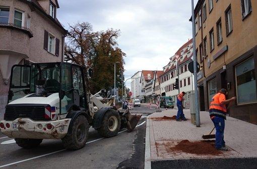 Grabenstraße ist ab Mittwoch frei