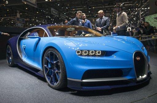 Ein Auto der Superlative: Der Bugatti Chiron. Foto: AP
