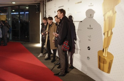 Roter Teppich zur Verleihung des Deutschen Kurzfilmpreises ... Foto: factum/Bach