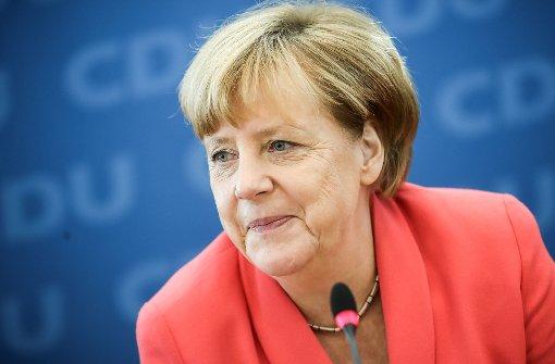 Merkel testet in Heidelberg Stimmung der CDU-Basis