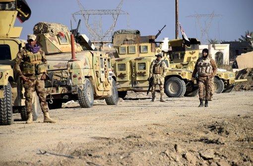 Ramadi von irakischen Truppen befreit