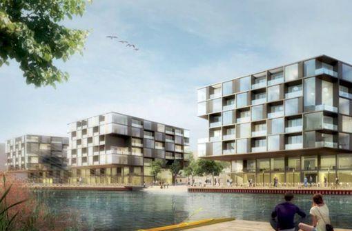 Edelarchitektur für die Seepromenade