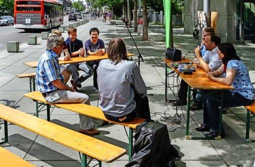 Was machen die eigentlich? Stadträte erklären Schülern ihre Arbeit. Foto: factum/bach