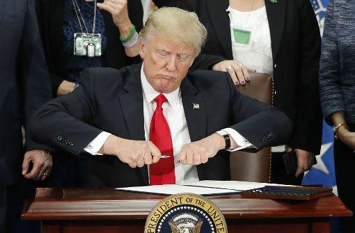 Trump will Nafta neu verhandeln