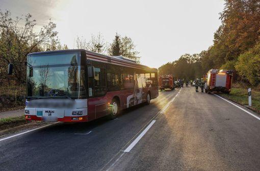 Mehrere Verletzte nach Bus-Vollbremsung