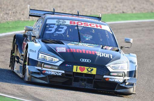 Audi-Fahrer René Rast holt überraschend den Titel