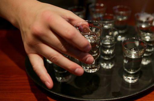 Kostbare Wodka-Flasche wieder aufgetaucht