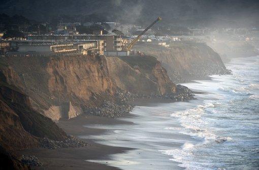 Küstenbewohner müssen ihre Häuser räumen