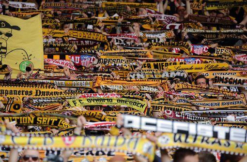 Dynamo-Fans loben Stuttgarter Polizei