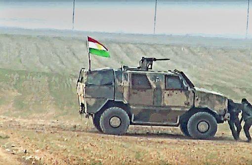 Kurdenangriff unter deutschem Hoheitszeichen