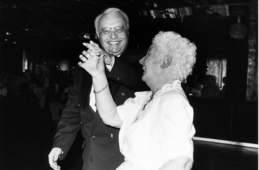 """""""Tanz für Stuttgart über 60"""" war seine Erfindung Foto: StN"""