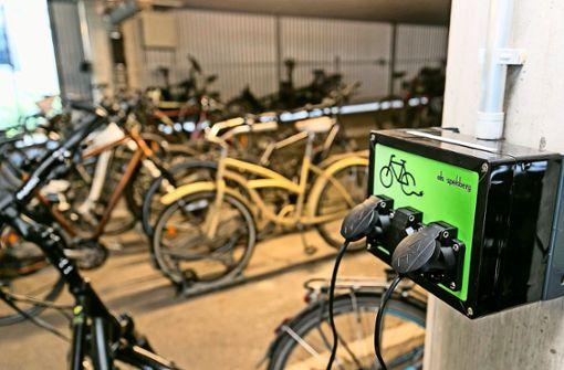 Täglich mit dem E-Bike  von Sindelfingen in die City