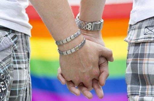 Homosexualität ist auf dem Kirchentag ein Thema. Foto: dpa-Zentralbild
