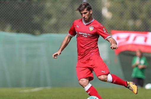 Emiliano Insua wird dem VfB Stuttgart vorerst fehlen. Foto: Pressefoto Baumann