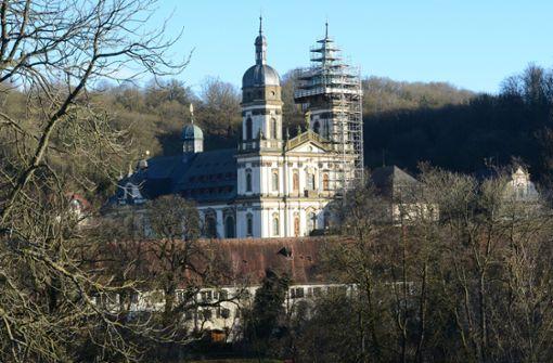 Kloster Schöntal: Seit 2007 treffen sich im Kloster Schöntal CDU-Führung und Abgeordnete zur Klausur. Foto: dpa
