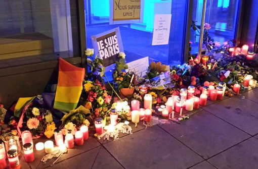 Leserfotos: Stuttgart trauert mit Frankreich