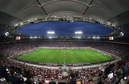 Mercedes-Benz-Arena: Schauplatz großer Spiele