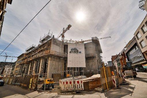 bDas Projekt:/bbr Das Gerber soll als Einkaufszentrum vor allem den Süden der Stadt bedienen und im Idealfall eine Art Verlängerung für die Königstraße werden. Foto: www.7aktuell.de   Florian Gerlach