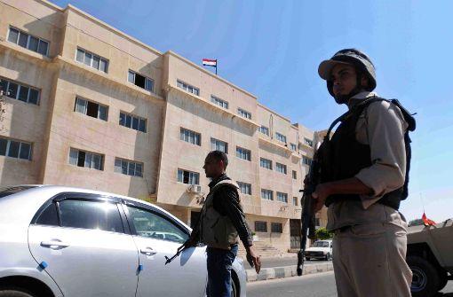 Viele Tote bei Angriff auf Moschee auf Sinai-Halbinsel