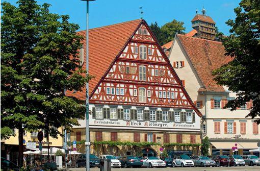 Neben Kielmeyers Besen am Marktplatz soll ein weiteres Lokal der Familie entstehen.  Foto: Archivfoto Horst Rudel