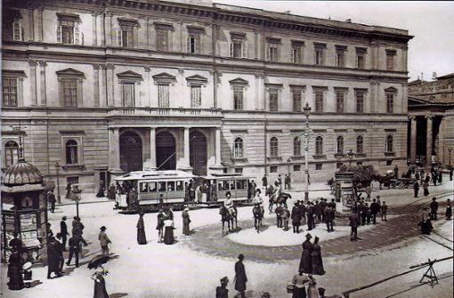 Das Kronprinzenpalais ist für Kronprinz Karl und seine Frau Olga 1844 bis 1850 gebaut worden.  Foto: StN-Archiv