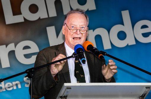 Alexander Gauland zählt zum konservativen Flügel der AfD. Er war lange Mitglied des rechten Flügels der CDU, bevor er die Partei wechselte. Foto: dpa