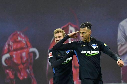 Hertha düpiert RB Leipzig in Unterzahl