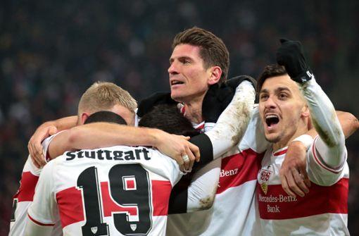 Der VfB dreht die Partie dank Mario Gomez
