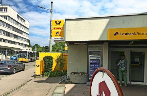 Postbankfiliale schließt Ende August