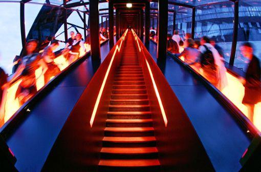 Der Aufstieg der Rolltreppe
