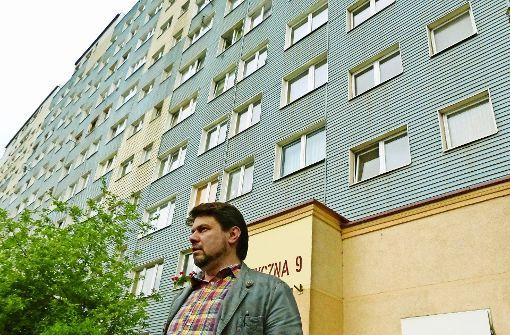 Thomas Karzelek bei der Suche nach Lara in Polen.  Foto: Höhn